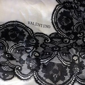 Large Valentino super thin scarf